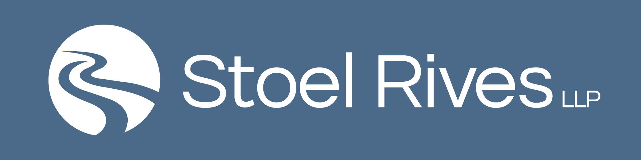 New Logo - White on Blue Background